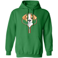 JACK RUSSELL ZIP-DOWN LADIES  Pullover Hoodie 8 oz.