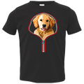 GOLDEN RETRIEVER ZIP-DOWN Toddler Jersey T-Shirt