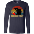 I DO WHAT I WANT Men's Jersey LS T-Shirt