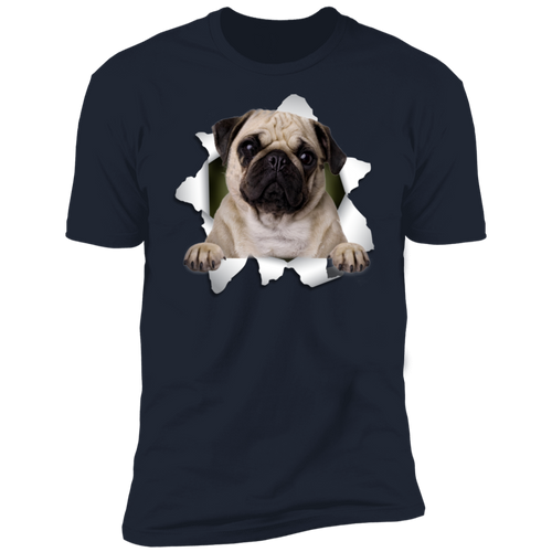 PUG 3D Premium Short Sleeve T-Shirt