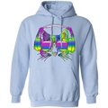RAINBOW MUSIC CAT LADIES Pullover Hoodie 8 oz.