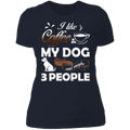 I LIKE COFFEE Ladies' Boyfriend T-Shirt