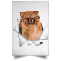 GERMAN SPITZ KLEIN Satin Portrait Poster