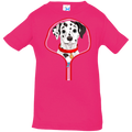 DALMATIAN ZIP-DOWN Infant Jersey T-Shirt