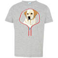 LABRADOR RETRIEVER 3D Toddler Jersey T-Shirt