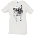 FUNNY ENGLISH BULLDOG Infant Jersey T-Shirt