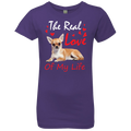 THE REAL LOVE OF MY LIFE Girls' Princess T-Shirt