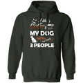 I LIKE COFFEE LADIES Pullover Hoodie 8 oz.