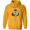 A GOOD DAY STARTS WITH COFFEE LADIES Pullover Hoodie 8 oz.