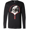 PUG ZIP-DOWN Men's Jersey LS T-Shirt