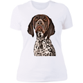 CUSTOMIZED PET PRINT ART Ladies' Boyfriend T-Shirt