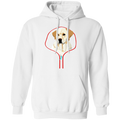LABRADOR RETRIEVER ZIP-DOWN LADIES Pullover Hoodie 8 oz.