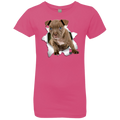 PITBULL 3D Girls' Princess T-Shirt