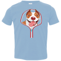 PITBULL ZIP-DOWN Toddler Jersey T-Shirt