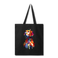 Hand painted vizsla Tote Bag - black