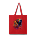 Hand painted cocker spaniel Tote Bag - red