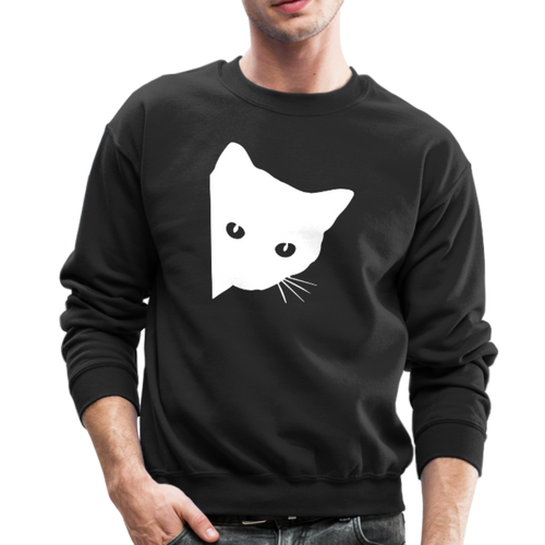 SPY CAT Crewneck Sweatshirt - black
