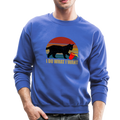 I DO WHAT I WANT Crewneck Sweatshirt - royal blue