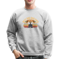 BEST DOG DAD EVER Crewneck Sweatshirt - heather gray