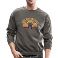 BEST DOG DAD EVER Crewneck Sweatshirt - asphalt gray