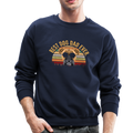BEST DOG DAD EVER Crewneck Sweatshirt - navy