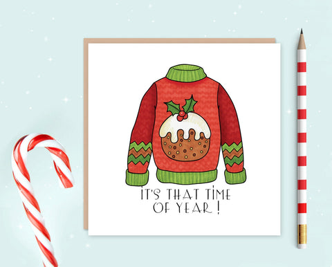 Christmas Jumper Christmas Cards Pack of Ten