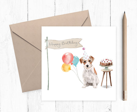 Jack Russell - Birthday Card