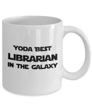 Yoda Best Librarian In The Galaxy - 11 Ounce Mug