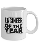 Engineer of the Year - version 2 - 11 Ounce Mug