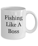 Fishing Like A Boss - 11 Ounce Mug