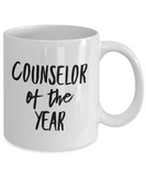 Counselor of the Year - 11 Ounce Mug