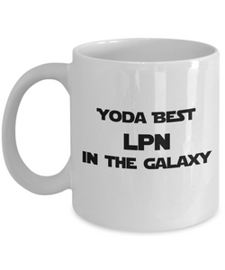 Yoda Best LPN In The Galaxy - 11 Ounce Mug