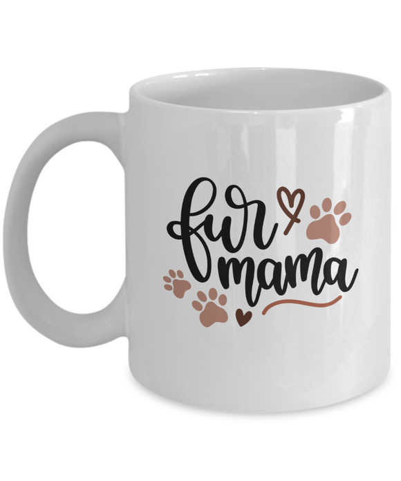 Fur Mama (version 3) - 11 Ounce Mug