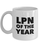 LPN of the Year - version 2 - 11 Ounce Mug