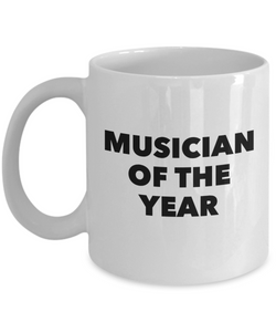 Musician of the Year - version 1 - 11 Ounce Mug