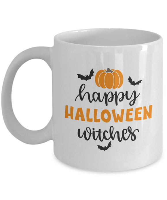 Happy Halloween Witches - 11 Ounce Mug