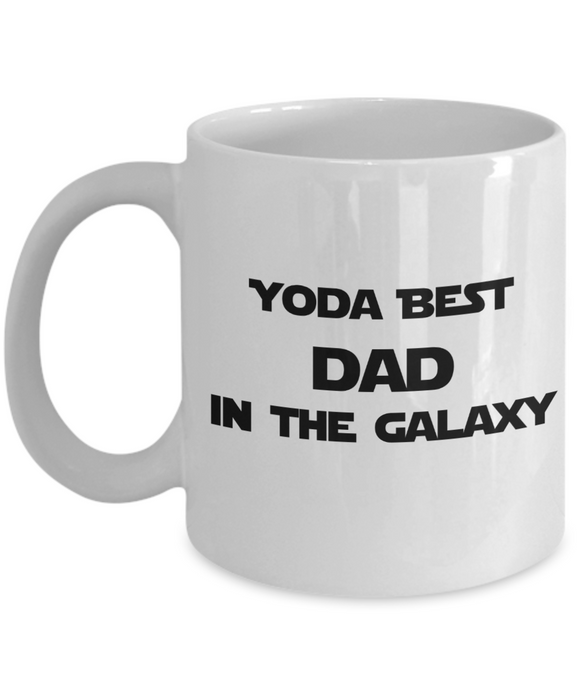 Yoda Best DAD In The Galaxy - 11 Ounce Mug