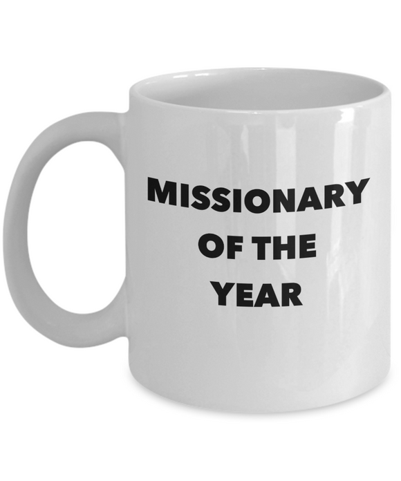 Missionary of the Year - version 2 - 11 Ounce Mug