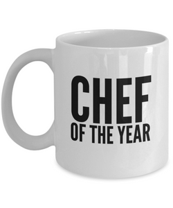 Chef of the Year (version 1) - 11 Ounce Mug