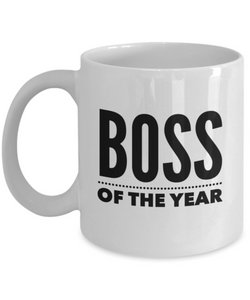 Boss Of The Year - version 2 - 11 Ounce Mug