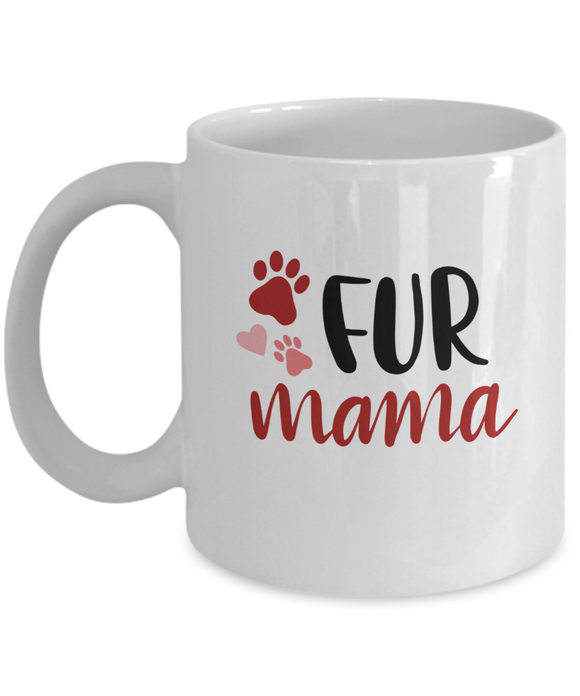 Fur Mama (version 2) - 11 Ounce Mug
