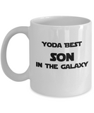 Yoda Best Son In the Galaxy - 11 Ounce Mug