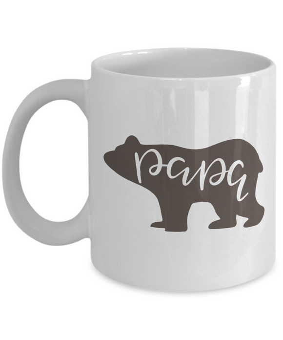 Papa Bear Coffee Mug - 11 Ounce Mug