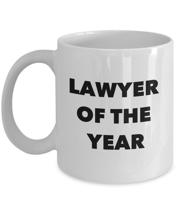 Lawyer of the Year - version 1 - 11 Ounce Mug
