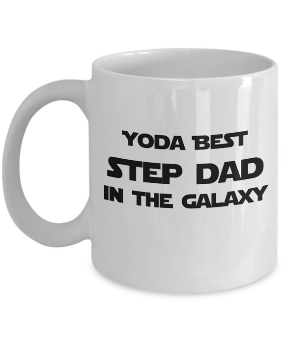Yoda Best Step Dad In The Galaxy - 11 Ounce Mug
