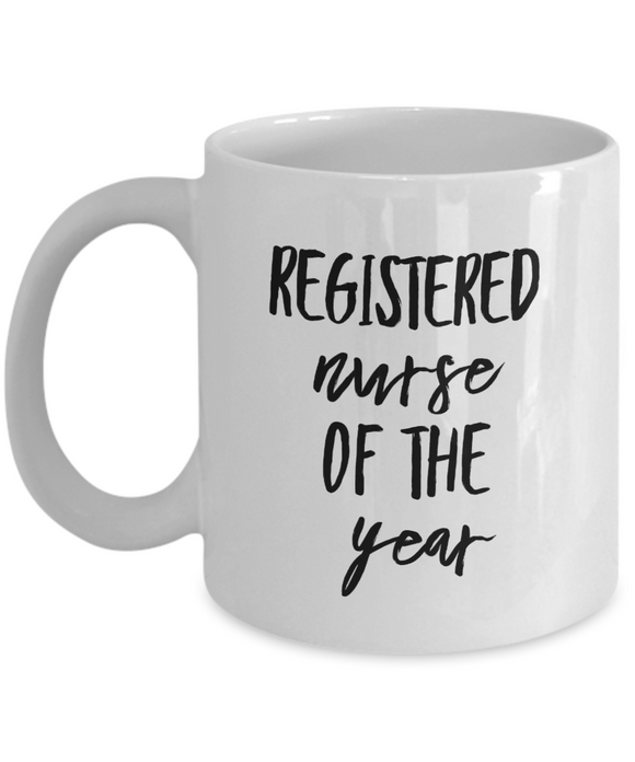 Registered Nurse of the Year - version 2 - 11 Ounce Mug