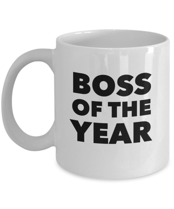 Boss Of The Year - version 3 - 11 Ounce Mug