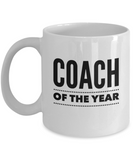 Coach of the Year - version 1 - 11 Ounce Mug