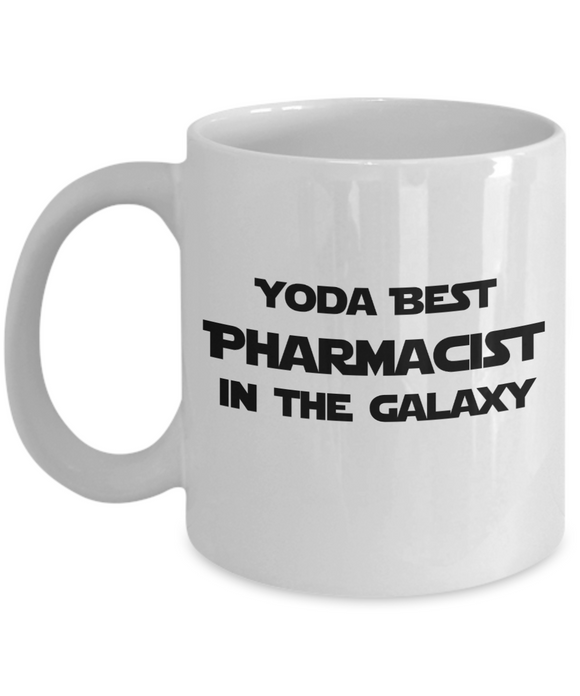 Yoda Best Pharmacist In The Galaxy - 11 Ounce Mug