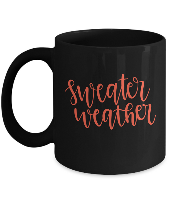 Sweater Weather - 11 Ounce Mug